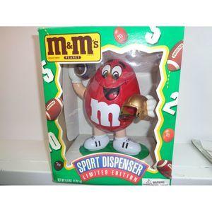 VINTAGE M&M's Candy Dispenser